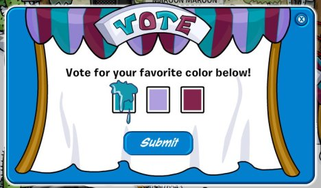 aqua color vote 09