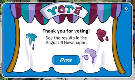 thank for voting color vote 09