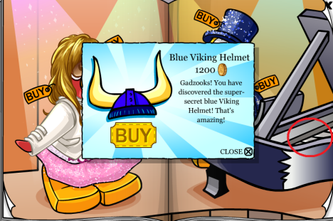 Blue viking helmet 1 09